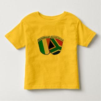 South African & Irish Flag Friendship Badges Toddler T-shirt