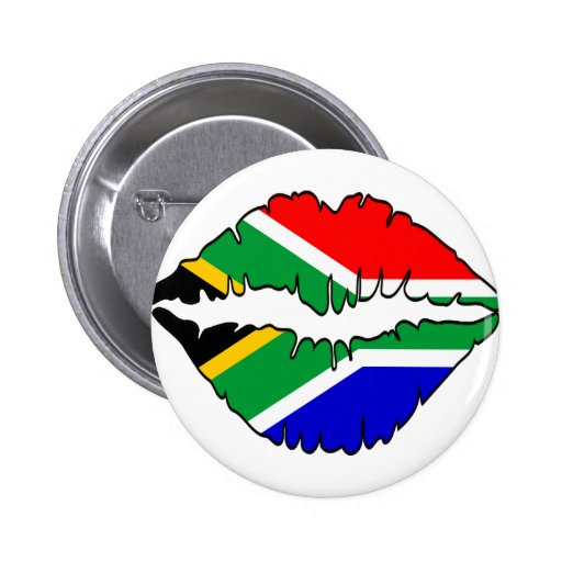 South African Kiss Theme Button