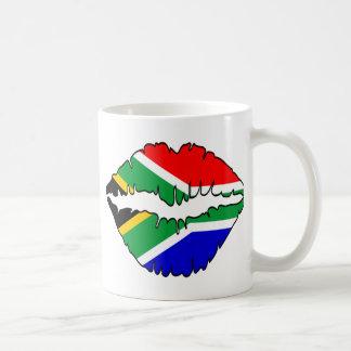 South African Kiss Theme Coffee Mug