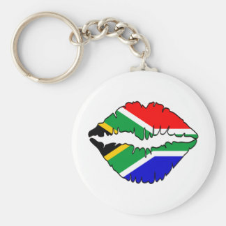 South African Kiss Theme Keychains
