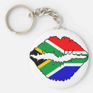 South African Kiss Theme Key Chain