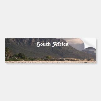South African Landscape Bumper Sticker