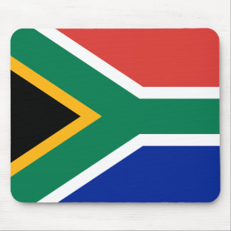 South African National Flag Mouse Pad