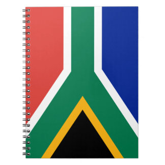 South African National Flag Notebook