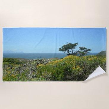 Beach Themed South African Ocean View Beach Towel