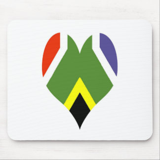 South African peace flag Mousepads