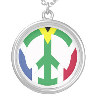 South African peace sign Necklaces