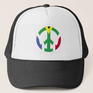 South African peace sign Trucker Hat