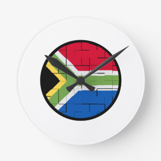 South African Pride Round Clock