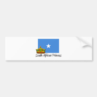 South African Princess Bumper Stickers
