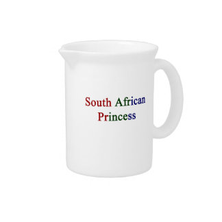 South African Princess Beverage Pitcher