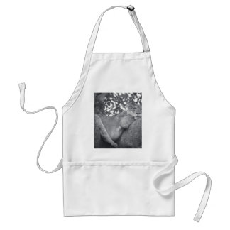 South African resting lion Adult Apron