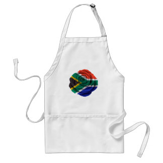 South African Rose Flag Apron