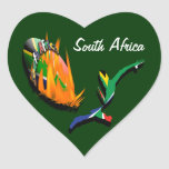South African rugby supporters fan stickers