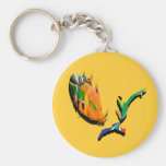 South African rugby supporters & fans keyrings Key Chain