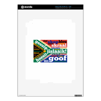 South African slang and colloquialism Decal For iPad 2