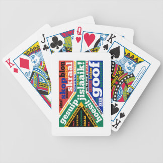 South African slang and colloquialisms Bicycle Playing Cards