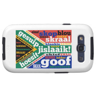 South African slang and colloquialisms Galaxy SIII Cover