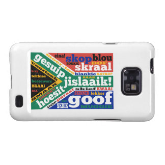 South African slang and colloquialisms Galaxy SII Case