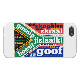 South African slang and colloquialisms iPhone 5/5S Cover