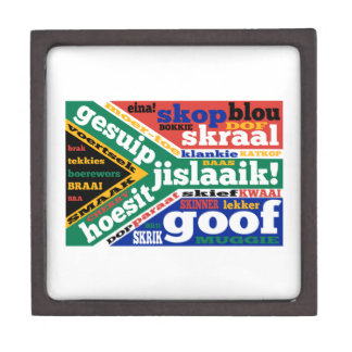 South African slang and colloquialisms Jewelry Box