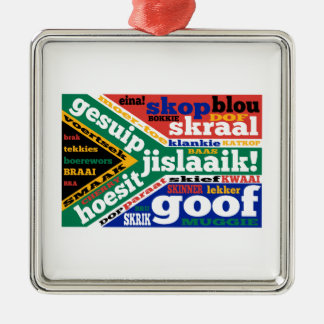 South African slang and colloquialisms Christmas Ornaments