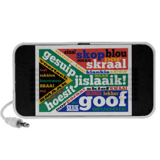 South African slang and colloquialisms iPhone Speakers