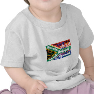 South African slang and colloquialisms Tee Shirt