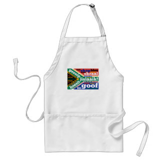 South African slang and colonialisms Apron