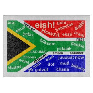 South African Slang Chopping Board Cutting Board
