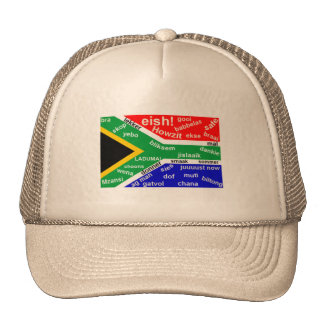 South African Slang Hat - Customizable