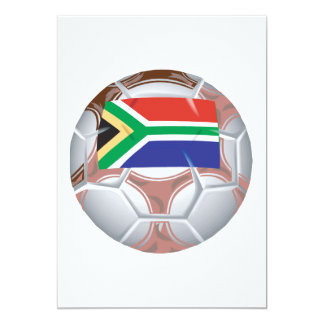 South African Soccer Ball Card