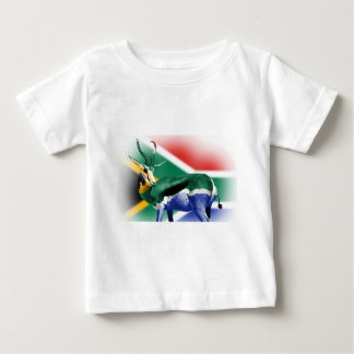South African Springbock Flag Baby T-Shirt