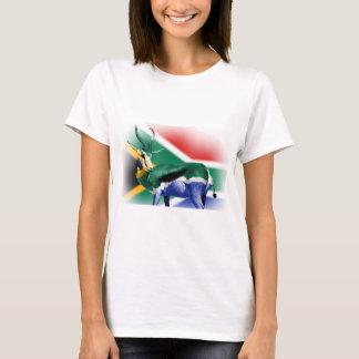 South African Springbock Flag T-Shirt
