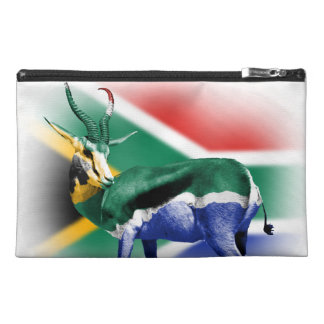 South African Springbuck Flag Bagettes Bag Travel Accessory Bags