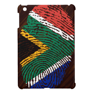 South African touch fingerprint flag iPad Mini Cases