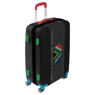 South African touch fingerprint flag Luggage