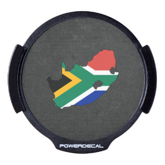 South African Trip Souvenir LED Window Decal