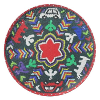 South African Weave  Decorative Plate