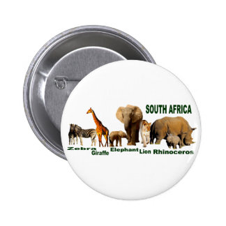 South African Wildlife Pins