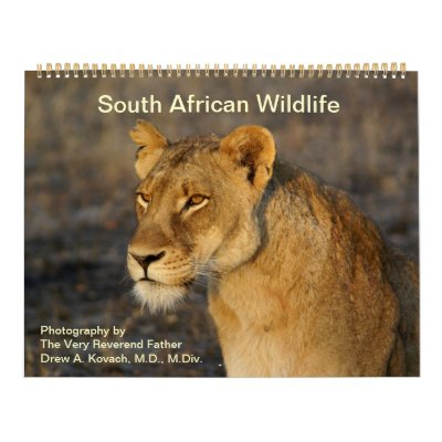 South African Wildlife Calendars