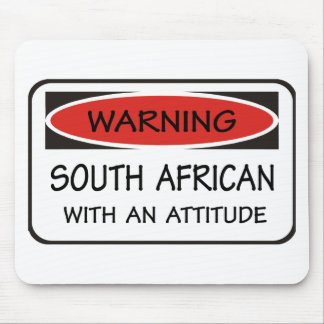 South African With An Attitude Mouse Pad