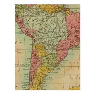 South America 11 Postcard