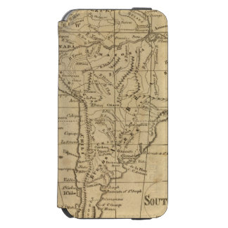 South America 12 iPhone 6/6s Wallet Case