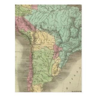 South America 13 Postcard