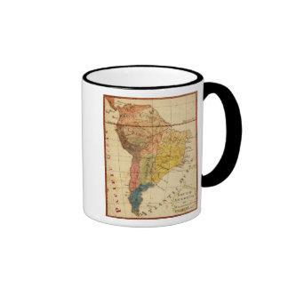 South America 15 Coffee Mugs
