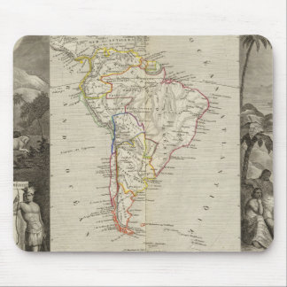 South America 16 Mouse Pad