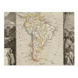 South America 16 Postcard