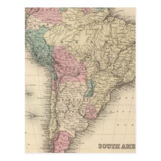 South America 17 Postcard