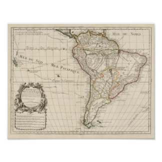 South America 17 Print